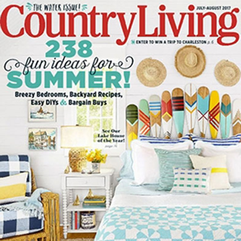 Country Living July 2017