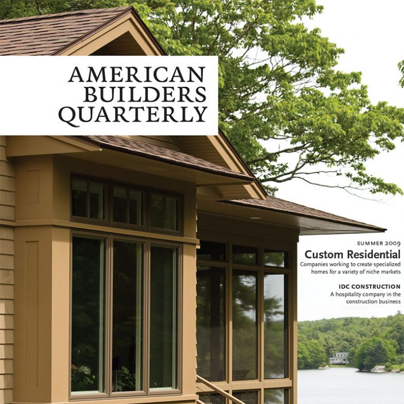 American Builders Quarterly | Summer 2009