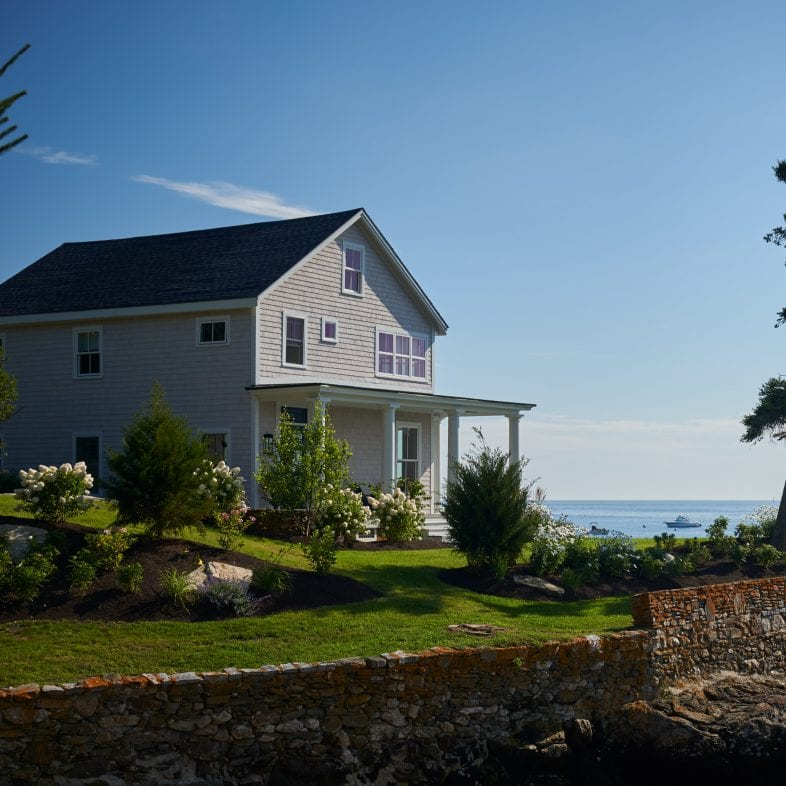 Twin Cove home with iconic coastal Maine views