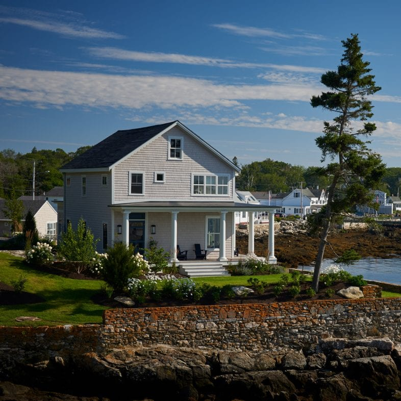 Outstanding craftsmanship with this Twin Cove coastal Maine home.