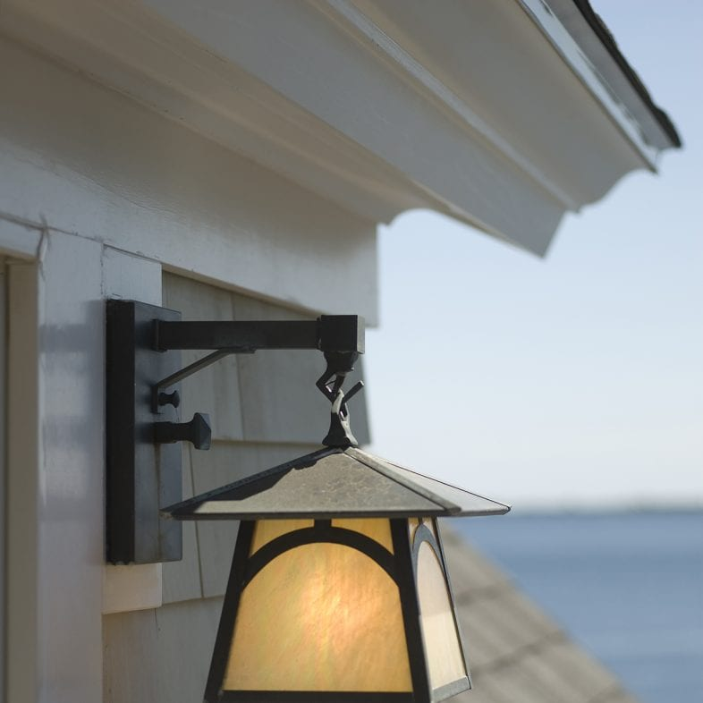 Outdoor lighting at Bayberry