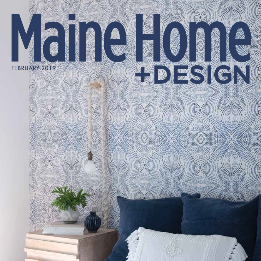 Maine Home and Design February 2019 cover