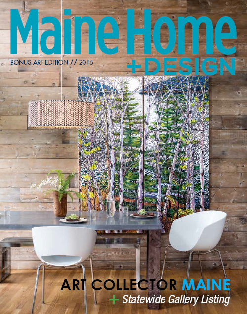 Maine Home+Design | Art issue