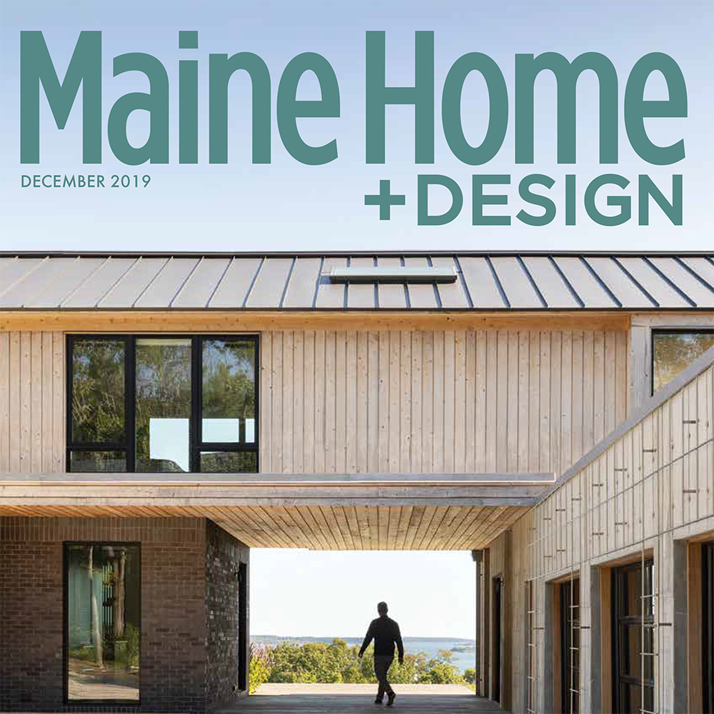 Maine Home and Design December '19 cover
