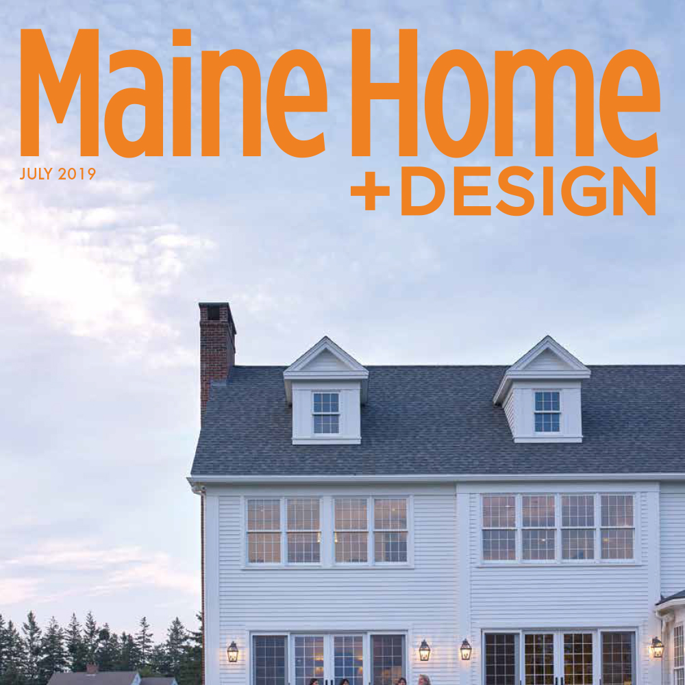 Maine Home and Design July 2019 cover