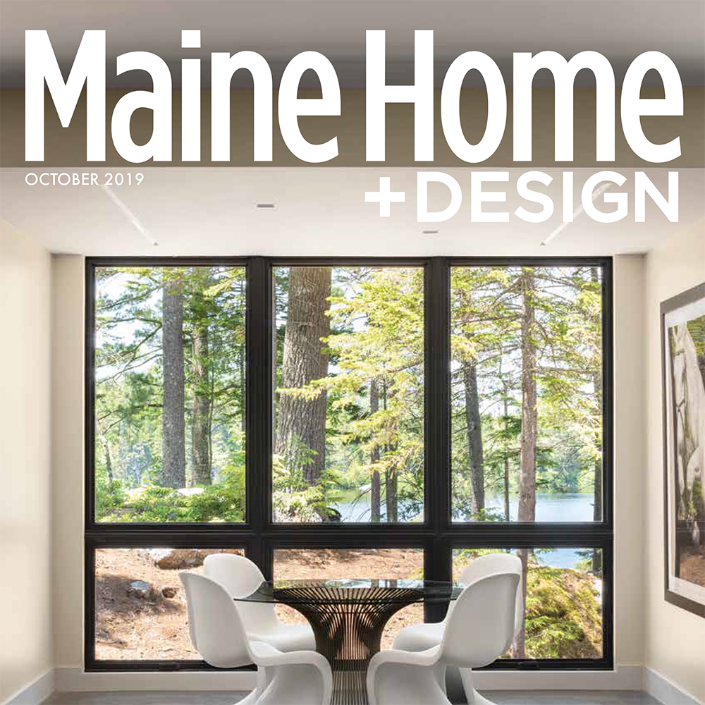 Maine Home and Design October '19 cover