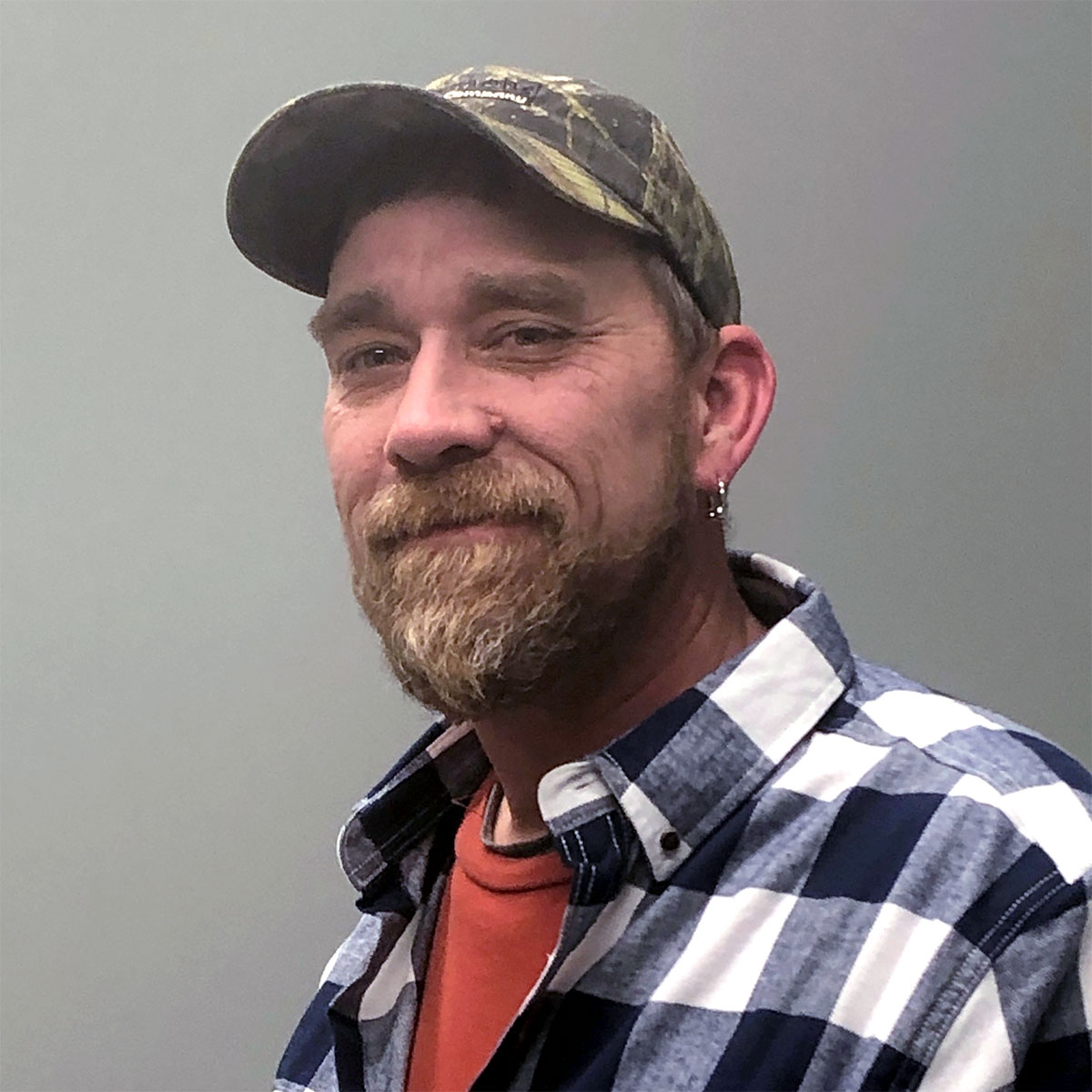 A photo of Chris Field, Field Team Leader